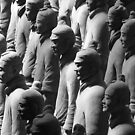 Terracotta Warriors Light and Shadow by fatfatin