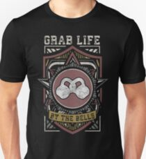 Grab Life By The Bells - Kettlebell Fitness (Vintage) Unisex T-Shirt