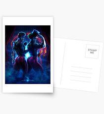 David Kawena's Circus Freaque - Twins Cards/Postcards/Stickers Postcards