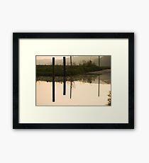 tidal road Framed Print
