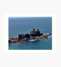 THE TRANQUILITY OF THE SEA Art Print