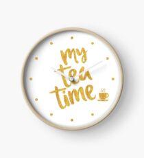 My tea time - 4 pm Clock
