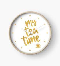 My tea time - 5 pm Clock