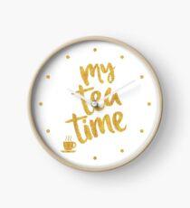 My tea time - 7 pm Clock