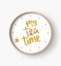 My tea time - 8 pm Clock