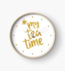 My tea time - 11 pm Clock