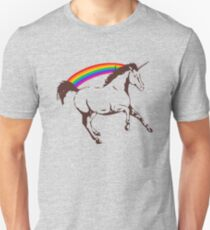 Unicorn with rainbow T-Shirt