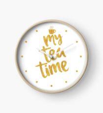 My tea time - 12 pm Clock