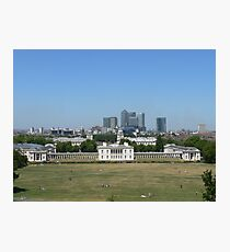Across Greenwich Park ..... Photographic Print