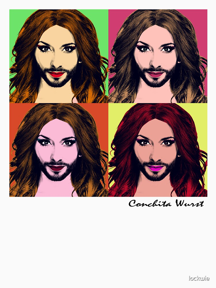 TShirtGifter presents: Conchita Wurst - Pop Art | Unisex Tank Top
