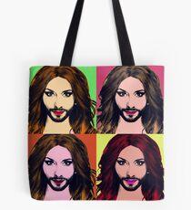 Conchita Wurst - Pop Art Tote Bag