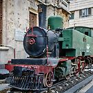 A Classic 2-6-0 outside Hejaz Railway Station in Damascus by MarcW