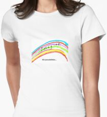 Hastings Thrives; Imagine the possibilities Women's Fitted T-Shirt