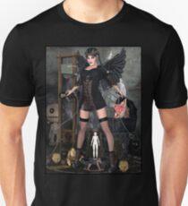 Wednesday Addams Fallen Witch Angel Unisex T-Shirt
