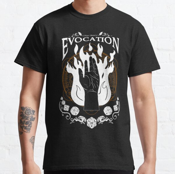 Evocation - RPG Magic School Series : White Classic T-Shirt
