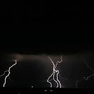 Lightning Crashes by CRobinson