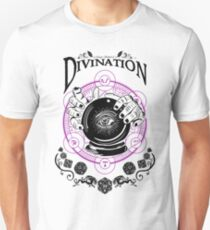 Divination - D&D Magic School Series : Black Unisex T-Shirt