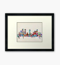 denver colorado Framed Print