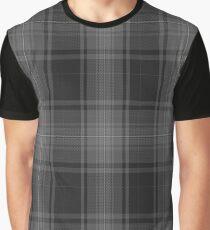 02754 Titanium Fashion Tartan  Graphic T-Shirt