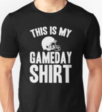 This Is My Game Day Shirt Football  T-Shirt