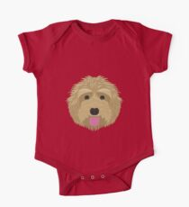 Golden Labradoodle  One Piece - Short Sleeve
