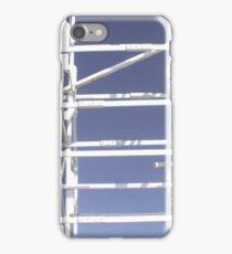 Wooden roller coaster iPhone Case/Skin