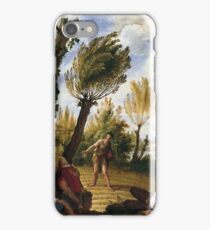 Domenico Fetti - The Parable Of The Weeds iPhone Case/Skin