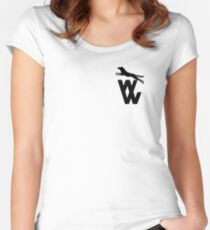 Wolves 'WW' 1970-74 Women's Fitted Scoop T-Shirt