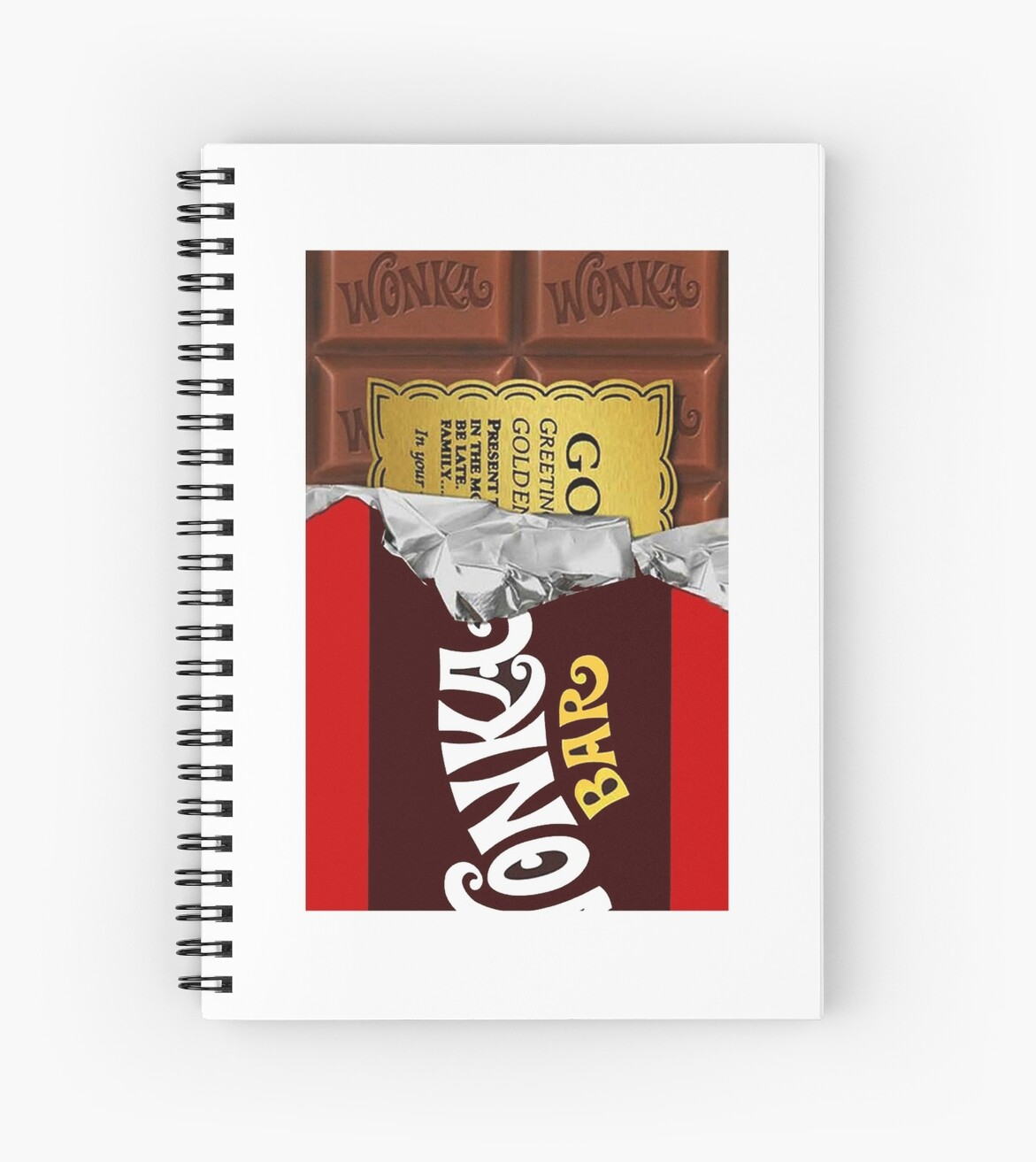 willy wonka chocolate bar cover for imagination