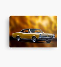 1968 Pontiac GTO 389 Tri-Power Metal Print