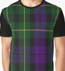 Abercrombie (Wilsons No 264) Clan/Family Tartan  Graphic T-Shirt