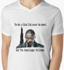The Gunslinger followed.  Mens V-Neck T-Shirt