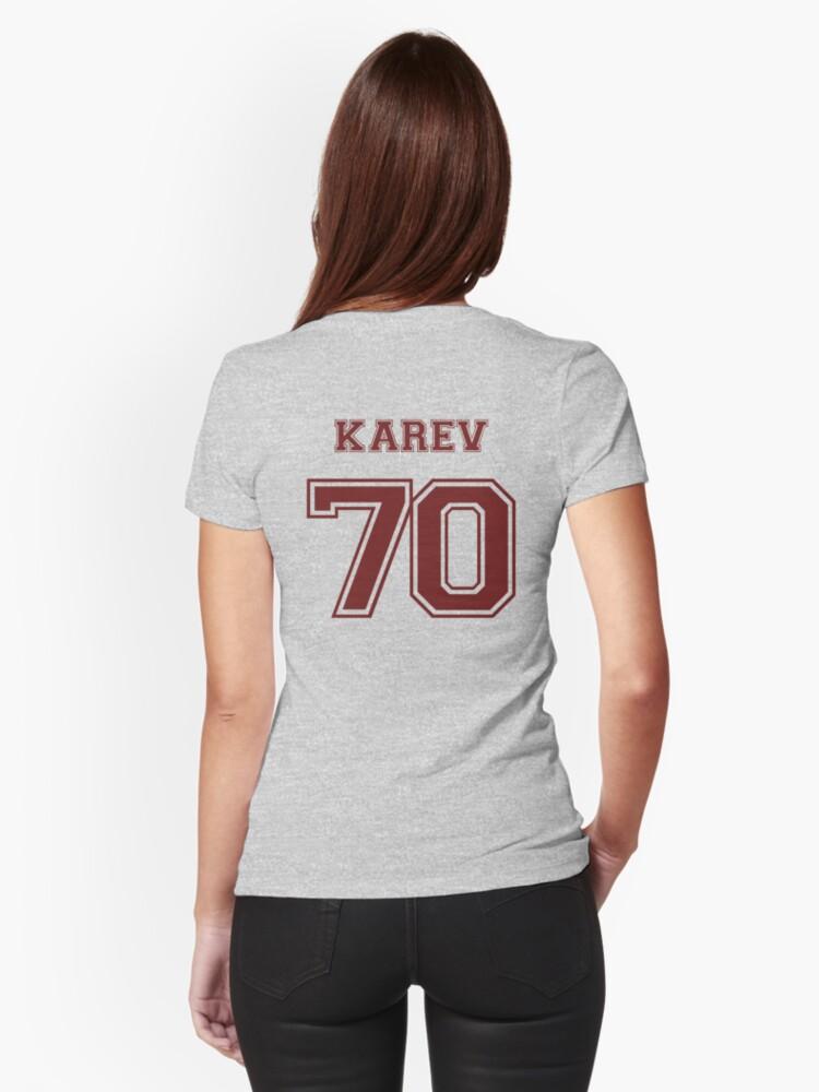 Camisetas entalladas para mujer «Alex Karev Jersey» de Lyndsey ...