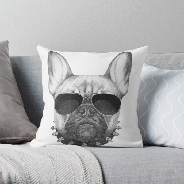 French Bulldog Throw Pillow