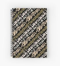 Chiang Mai Typo Spiral Notebook
