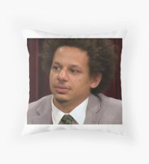 Eric Andre Tearing Up Throw Pillow