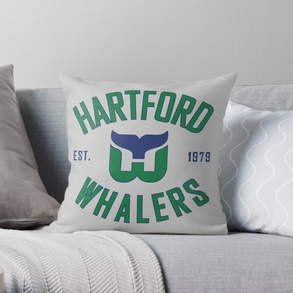 Hartford Whalers CT Throw Pillow