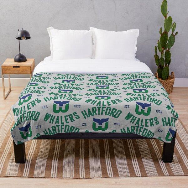 Hartford Whalers CT Throw Blanket