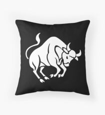 Taureau Throw Pillow