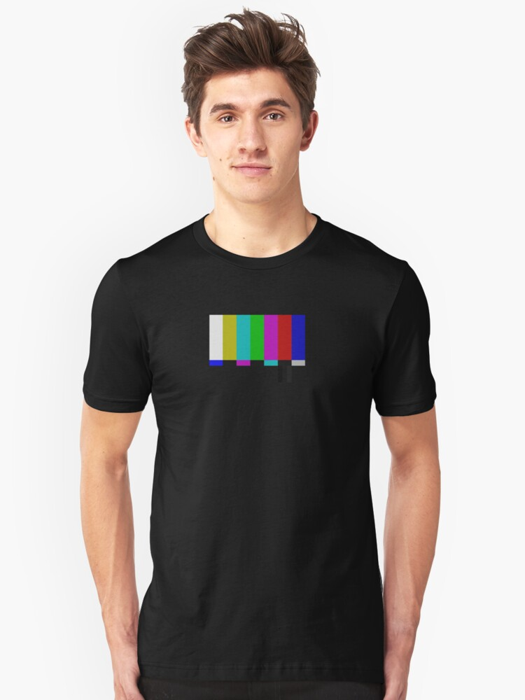 PAL TV Test Pattern  Unisex T-Shirt Front