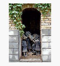 Terracotta Graveyard Photographic Print