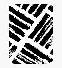 Abstract Monochrome 02 Photographic Print