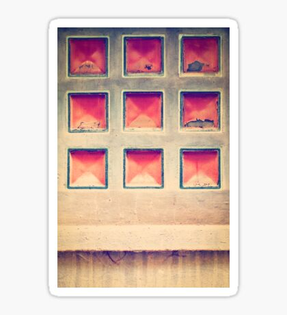 Squares in wall Sticker