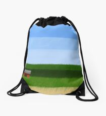 Green Drawstring Bag