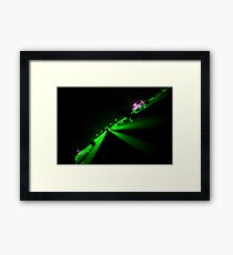 """laser"" Framed Print"