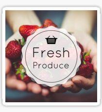 Fresh Produce Sticker