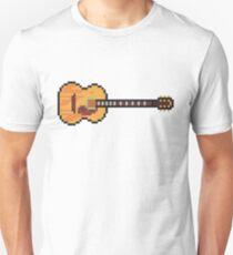 Pixel Acoustic Harmony Guitar Unisex T-Shirt