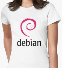 Debian Women's Fitted T-Shirt