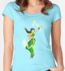Street Fighter V- Laura Women's Fitted Scoop T-Shirt