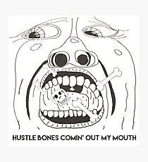 King Crimson Hustle Bones Photographic Print